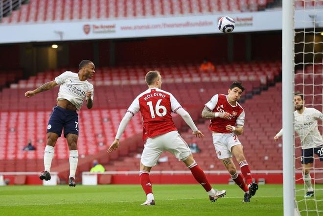 Manchester City xây chắc ngôi đầu với chiến thắng tối thiểu trước Arsenal - ảnh 1