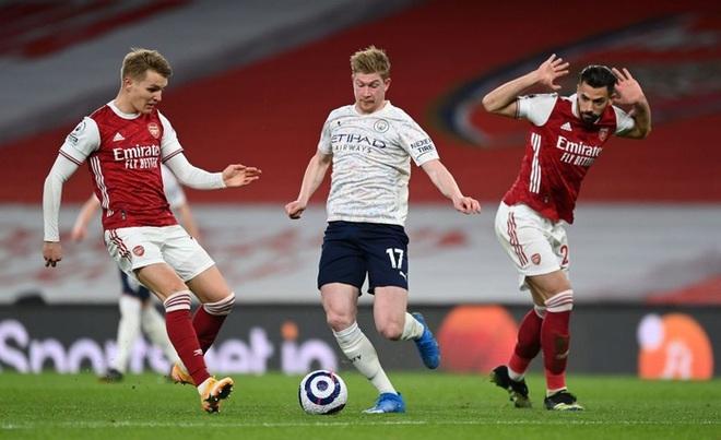 Manchester City xây chắc ngôi đầu với chiến thắng tối thiểu trước Arsenal - ảnh 4