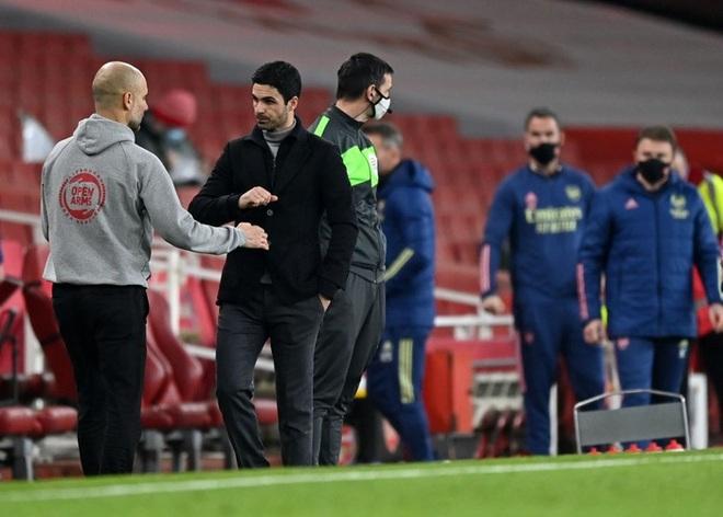 Manchester City xây chắc ngôi đầu với chiến thắng tối thiểu trước Arsenal - ảnh 6