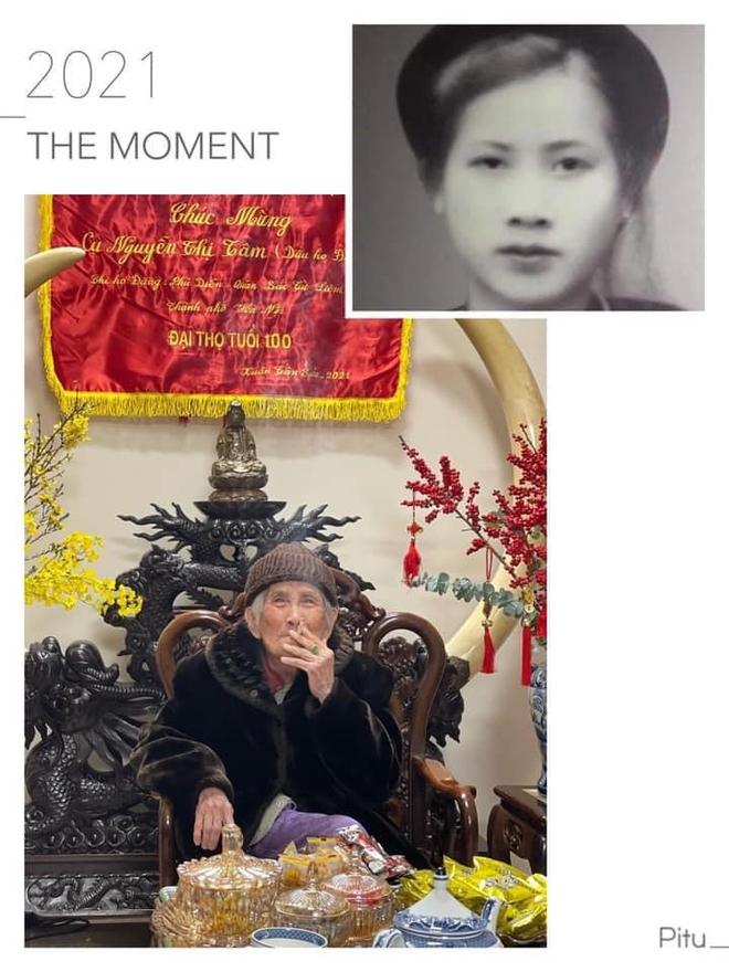 Cụ bà 100 tuổi ở Hà Nội gây sốt bởi nhan sắc xinh đẹp thời trẻ: Cụ vẫn minh mẫn, nhớ vanh vách tên tuổi con cháu - ảnh 3