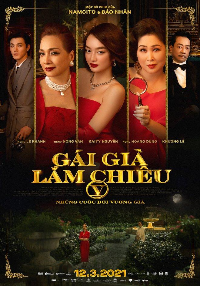 Phim điện ảnh cuối của NSND Hoàng Dũng - Gái Già Lắm Chiêu V công bố ngày chiếu mới cực gần làm netizen hồ hởi - ảnh 1