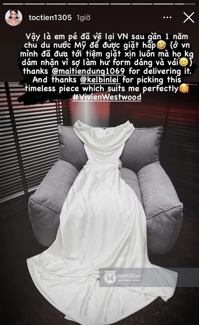Từ chuyện Tóc Tiên gửi váy cưới sang Mỹ để giặt: Hóa ra có dịch vụ giặt dành riêng cho đồ hiệu xa xỉ, mức phí lên tới nửa tỷ - ảnh 2