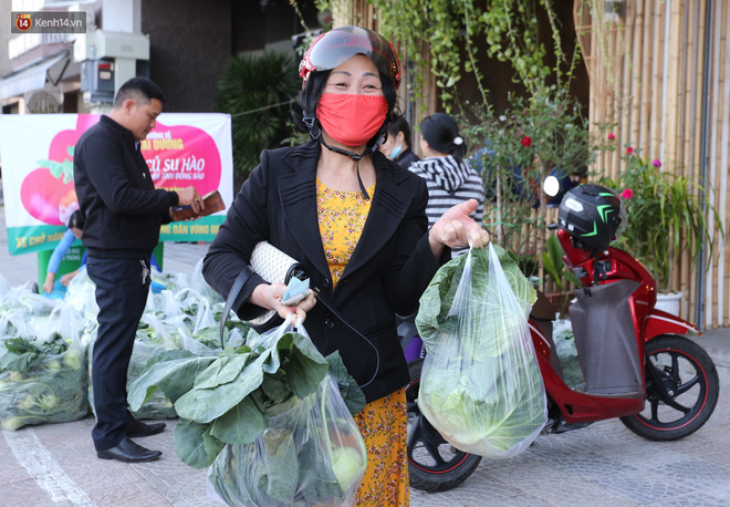 Ảnh: Người Đà Nẵng nườm nượp kéo nhau giải cứu nông sản cho nông dân Hải Dương - ảnh 9