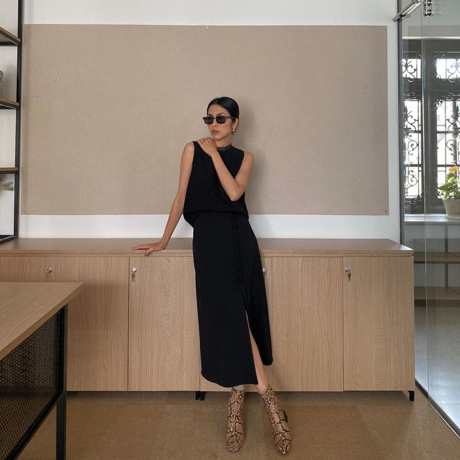 Làm dâu nhà hào môn nhưng Hà Tăng chỉ mê diện lại giày cũ, nể nhất là mỗi lần lại một style khác biệt - ảnh 1