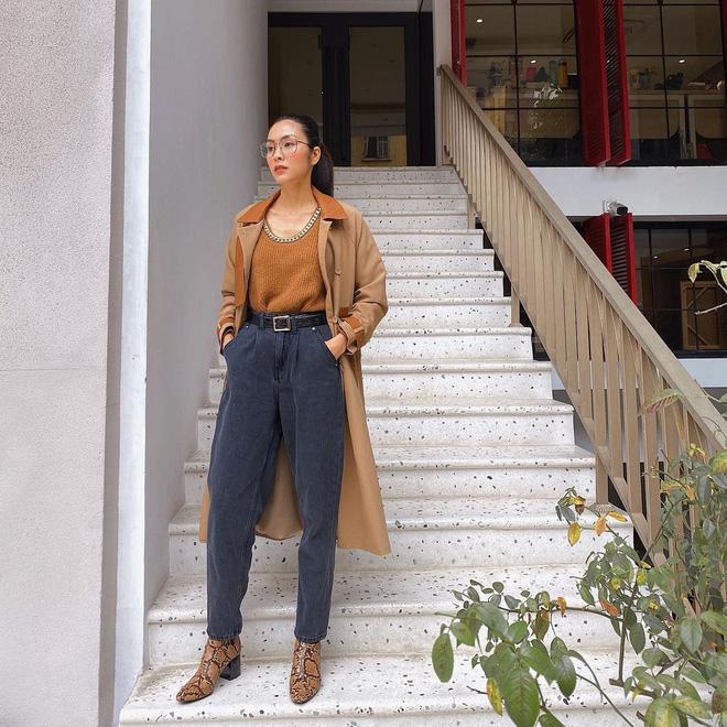 Làm dâu nhà hào môn nhưng Hà Tăng chỉ mê diện lại giày cũ, nể nhất là mỗi lần lại một style khác biệt - ảnh 2