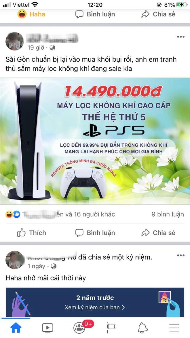 """Cảnh báo, hội chị em chú ý: Máy chơi game PS5 đang biến hình thành máy lọc không khí thế hệ mới, cẩn thận kẻo """"tiền mất, tật mang"""" - Ảnh 3."""