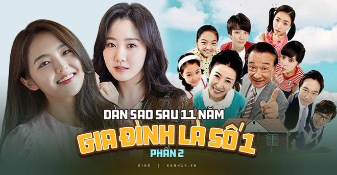 Dàn sao Gia Đình Là Số Một sau 11 năm: Người bùng nổ với siêu drama Penthouse, người bị bạo lực học đường bởi idol Kpop? - ảnh 1