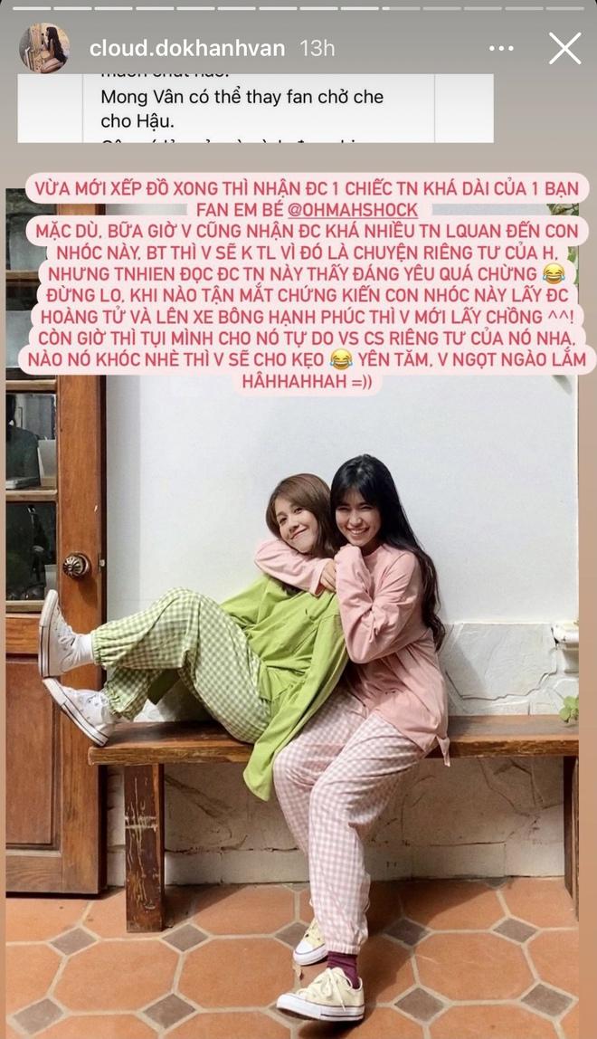 Không phải Mũi trưởng Long, Khánh Vân mới là người được fan gửi gắm che chở cho Hậu Hoàng - ảnh 1