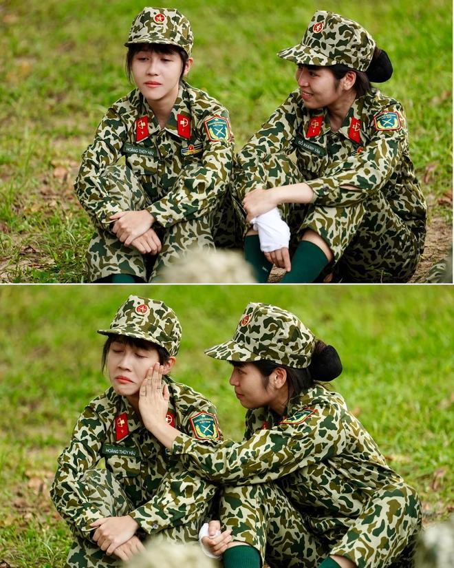 Không phải Mũi trưởng Long, Khánh Vân mới là người được fan gửi gắm che chở cho Hậu Hoàng - ảnh 4