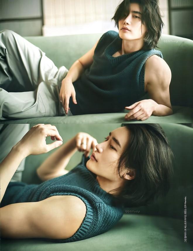 Lee Jong Suk tóc dài lãng tử quá, khoe visual mong manh đến siêu thực làm fangirl bị quật cực mạnh - ảnh 4