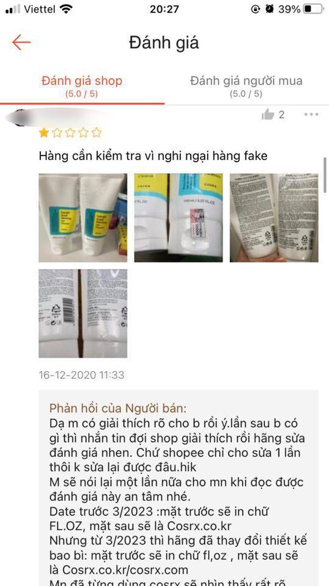 Kỳ công bóc phốt shop mỹ phẩm uy tín bán hàng fake, chủ thớt lại bị netizen ném đá ngược đau điếng - ảnh 4