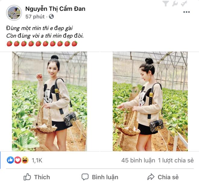 Đến lượt Cẩm Đan - gái đẹp 2k2 check in Đà Lạt, đi cùng ai mà thả thính ngọt thế này? - ảnh 3