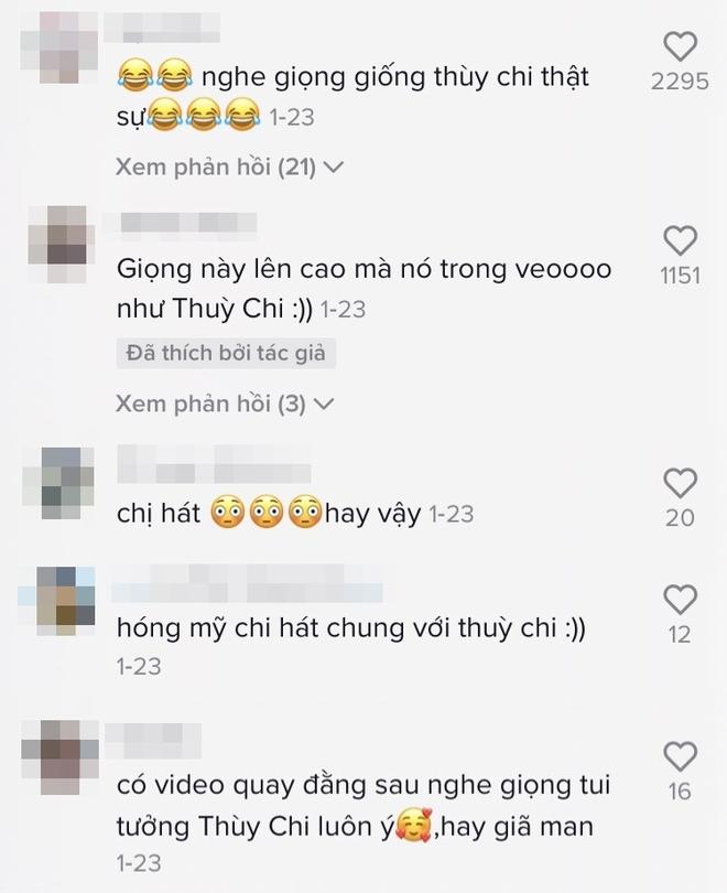 Phương Mỹ Chi cover Nàng Thơ: lên nốt cao vút khiến netizen thấy đau họng dùm, còn gọi tên Thùy Chi vì quá giống - ảnh 2