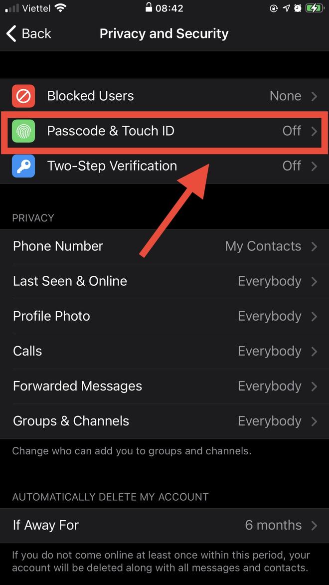 Telegram có quá nhiều thông tin nhạy cảm cần che giấu, bạn cần phải biết ngay cách bảo mật này! - Ảnh 3.