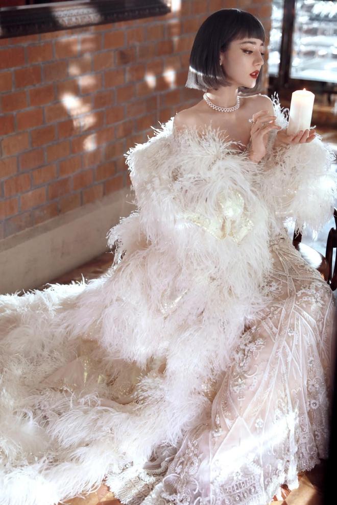 Soi váy áo sao nữ Đêm hội Weibo: Nhiệt Ba chặt chém ác liệt, Châu Đông Vũ - Tống Thiến mặc gì thế này? - ảnh 11