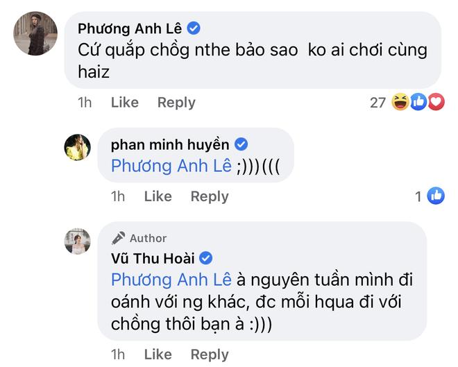 """Đăng ảnh tình tứ với chồng CEO, MC Thu Hoài bị hội bạn xúm vào """"nói xấu"""" thẳng mặt - ảnh 2"""