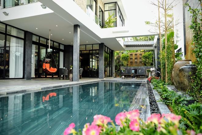 Gia đình doanh nhân Hà Nội xây căn villa 400m2 ở Flamingo - Đại Lải làm nơi nghỉ dưỡng dịp cuối tuần - Ảnh 3.