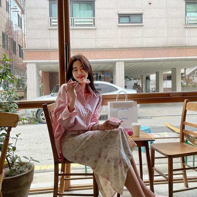 5 kiểu chân váy gái Hàn đang diện nhiều nhất, chị em sắm hết thì không bao giờ có chuyện mặc xấu - Ảnh 4.