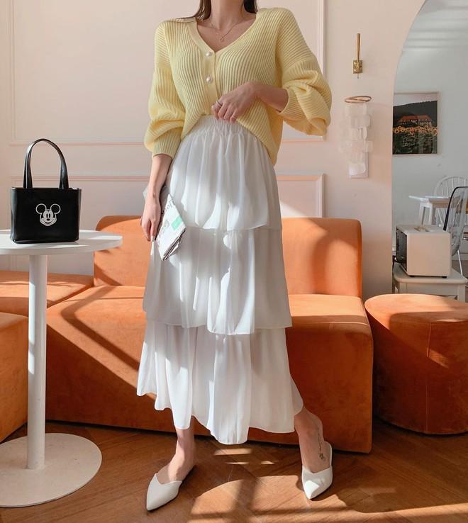5 kiểu chân váy gái Hàn đang diện nhiều nhất, chị em sắm hết thì không bao giờ có chuyện mặc xấu - Ảnh 5.