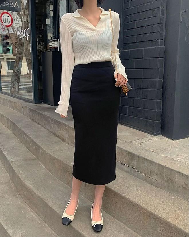 5 kiểu chân váy gái Hàn đang diện nhiều nhất, chị em sắm hết thì không bao giờ có chuyện mặc xấu - Ảnh 1.