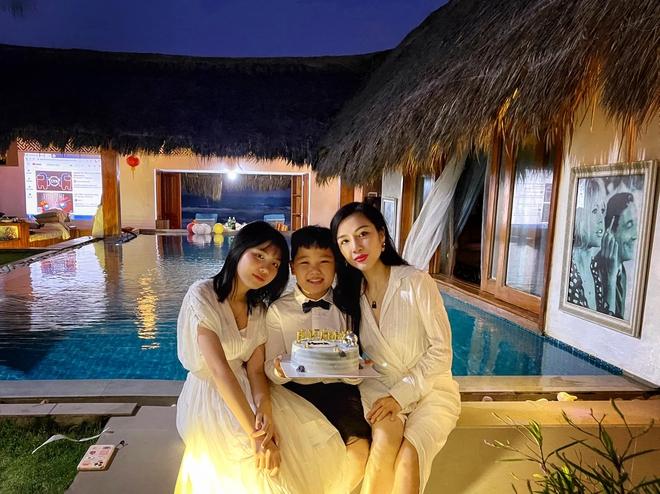 Vợ cũ cố NS Vân Quang Long tổ chức sinh nhật cho con trai, nhắn nhủ điều gây chú ý 001