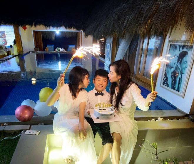 Vợ cũ cố NS Vân Quang Long tổ chức sinh nhật cho con trai, nhắn nhủ điều gây chú ý 002