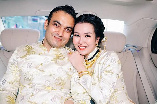Võ Hạ Trâm khoe bụng bầu xác nhận mang thai con đầu lòng với chồng người Ấn Độ, Đoan Trang và dàn sao nô nức chúc mừng - ảnh 5