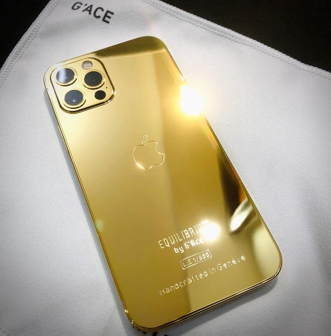 Vũ Khắc Tiệp là một trong 500 người trên thế giới sở hữu iPhone 12 Pro Max mạ vàng 18K, khoe giá thực tế mà choáng! - ảnh 7