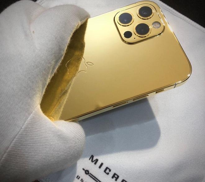 Vũ Khắc Tiệp là một trong 500 người trên thế giới sở hữu iPhone 12 Pro Max mạ vàng 18K, khoe giá thực tế mà choáng! - ảnh 4
