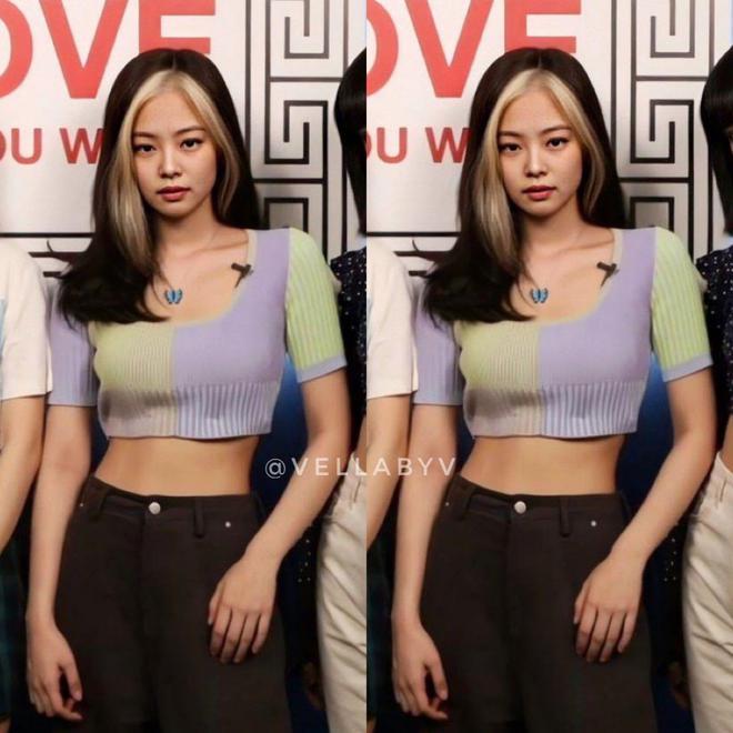 Đụng crop top giống Jennie, Chi Pu giành spotlight nhờ màn khoe vòng 2 căng đét - ảnh 1