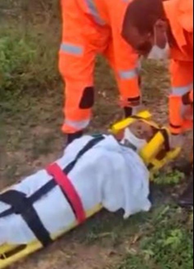 Cụ bà 76 tuổi ngã xuống hố sâu 3 mét kêu cứu không ai nghe, một mình co ro lạnh giá suốt 8 ngày và cái kết không tưởng - ảnh 1