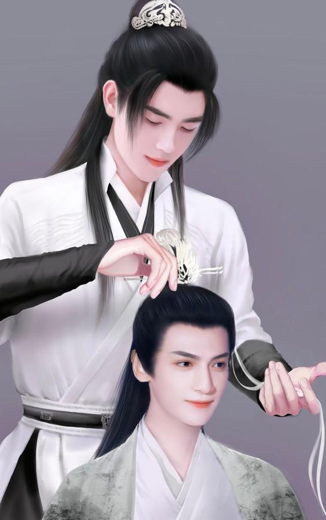 """Hóa ra Hạo Y Hành lại là Hoa Thiên Cốt phiên bản đam mỹ, netizen giật mình """"so sánh duyên ghê"""" 001"""
