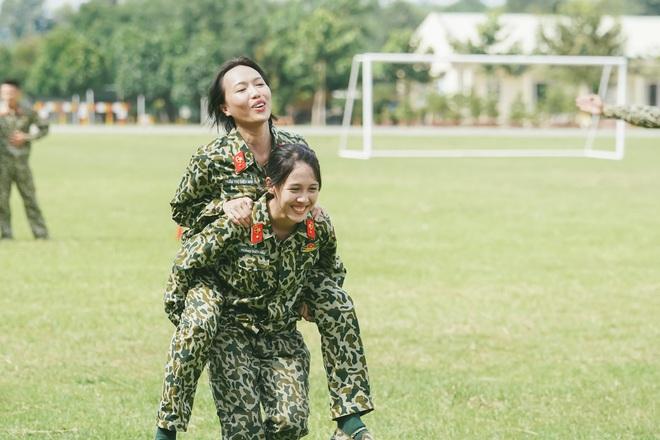 Hậu Hoàng: Từ cô bạn thân 'nhập ngũ ké' Khánh Vân đến nhân vật hot nhất nhì Sao Nhập Ngũ 007