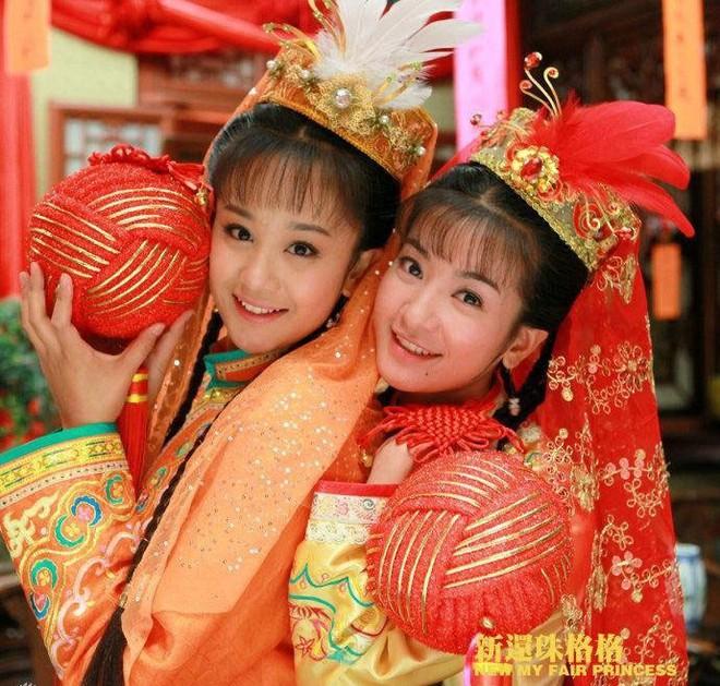 Ác nữ Cẩm Tâm Tựa Ngọc hóa ra chính là người xưa đọ visual với Triệu Lệ Dĩnh ở Hoàn Châu Cách Cách 004