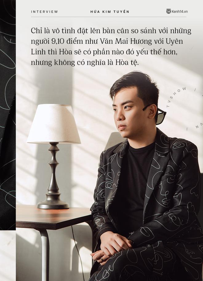 Hòa Minzy khiến hết Văn Mai Hương đến Hứa Kim Tuyền lo lắng về chuyện quá cầu toàn giọng hát 004