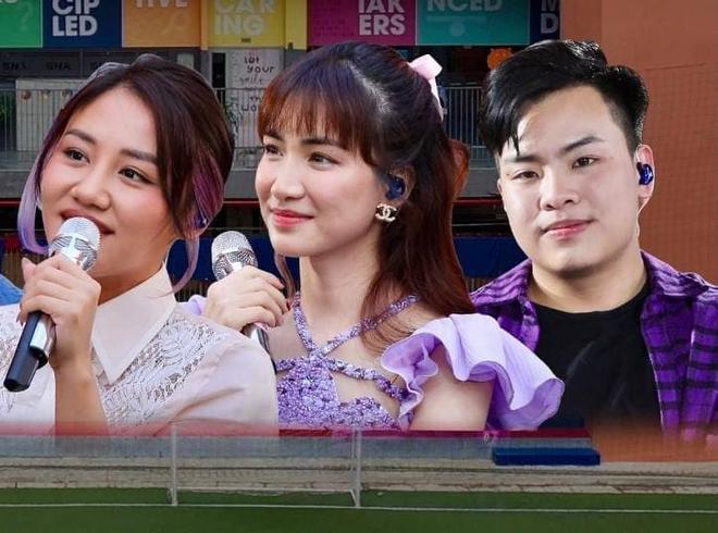 Hòa Minzy khiến hết Văn Mai Hương đến Hứa Kim Tuyền lo lắng về chuyện quá cầu toàn giọng hát 005