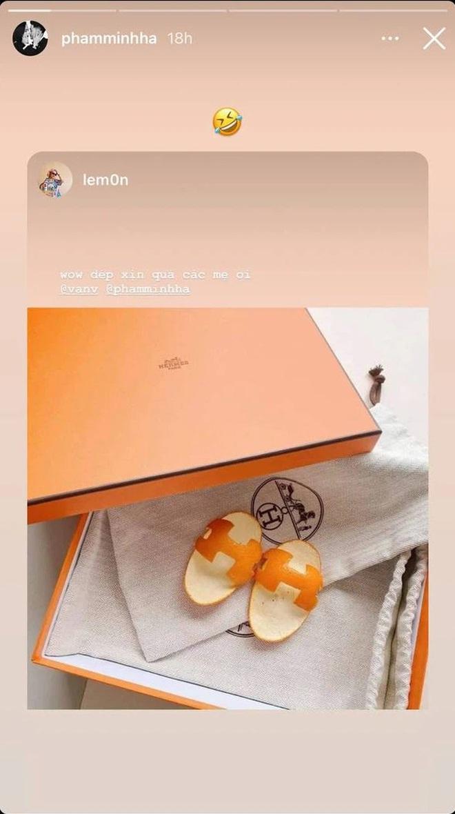 Đàm Thu Trang gây sốt với dép Hermès vỏ bưởi, tưởng mới nhưng hóa ra đã là hot trend từ bao giờ - ảnh 4