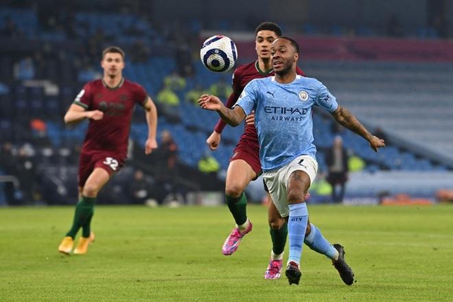 Giành chiến thắng thứ 21 liên tiếp, Manchester City gia tăng cách biệt với nhóm bám đuổi trên BXH - ảnh 1