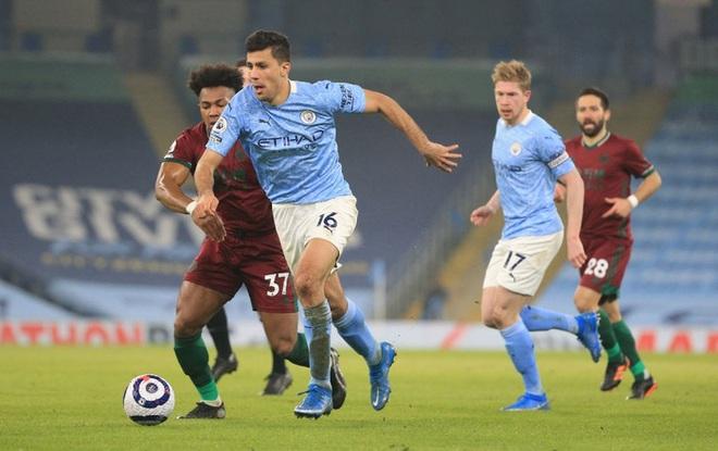 Giành chiến thắng thứ 21 liên tiếp, Manchester City gia tăng cách biệt với nhóm bám đuổi trên BXH - ảnh 4