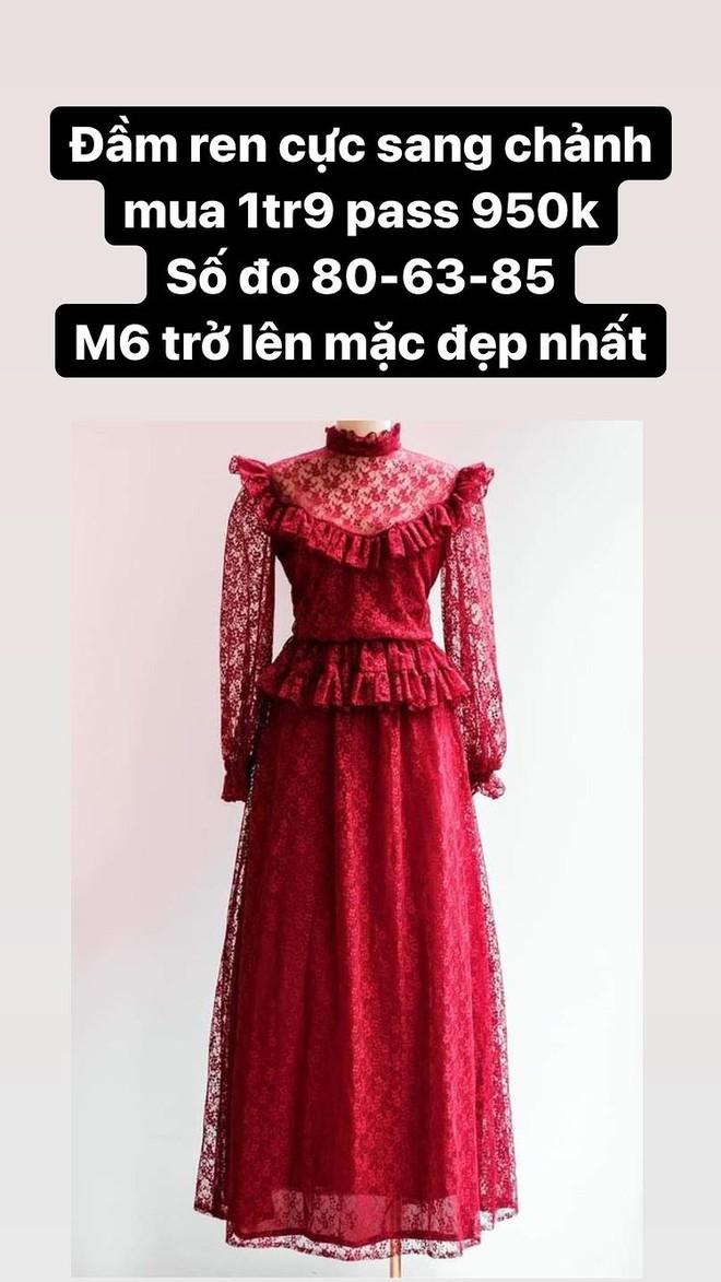 Hòa Minzy thanh lý cả loạt váy style vintage cực xinh, có món giá chỉ còn 1/2 - ảnh 7