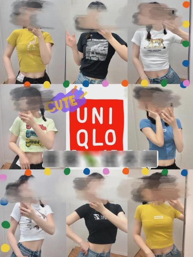 Uniqlo Trung Quốc phải ngăn khách không thử đồ trẻ em vì trào lưu khoe body gợi cảm gây tranh cãi - ảnh 7