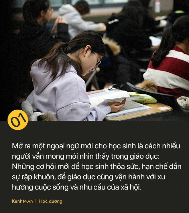 Tiếng Hàn và tiếng Đức trở thành môn học bắt buộc: Thế giới phẳng không có nghĩa là tất cả phải học tiếng Anh! - ảnh 1