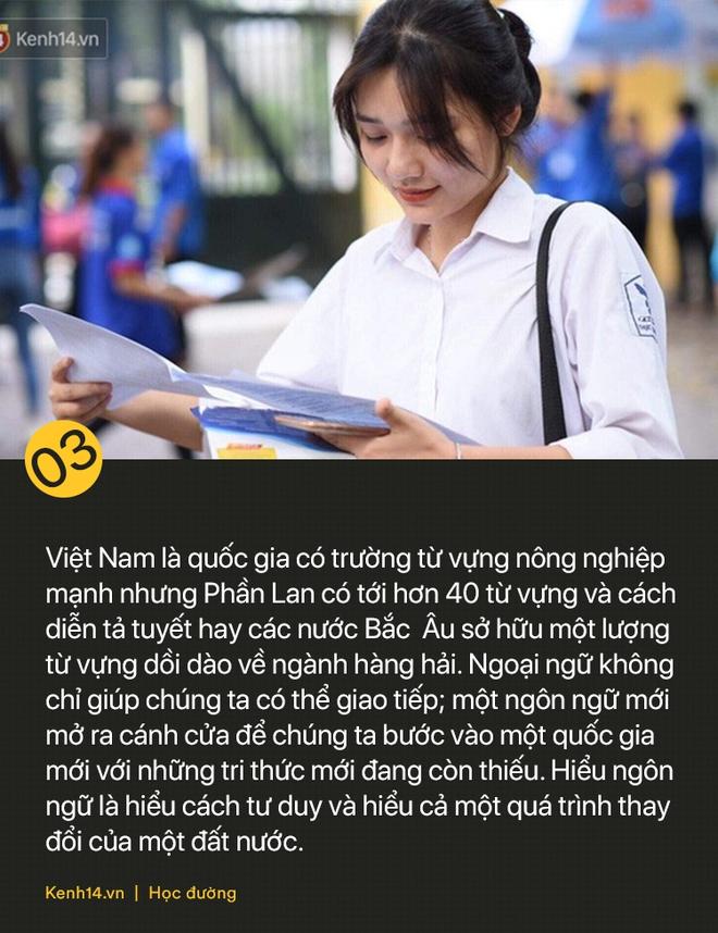 Tiếng Hàn và tiếng Đức trở thành môn học bắt buộc: Thế giới phẳng không có nghĩa là tất cả phải học tiếng Anh! - ảnh 3