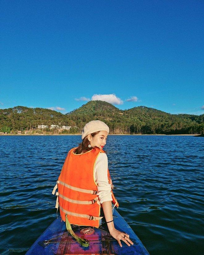 Xuýt xoa không thôi với loạt ảnh du lịch cực chill của Mi Vân: Style đơn giản nhưng nhan sắc mẹ bỉm vẫn đỉnh quá! - ảnh 6