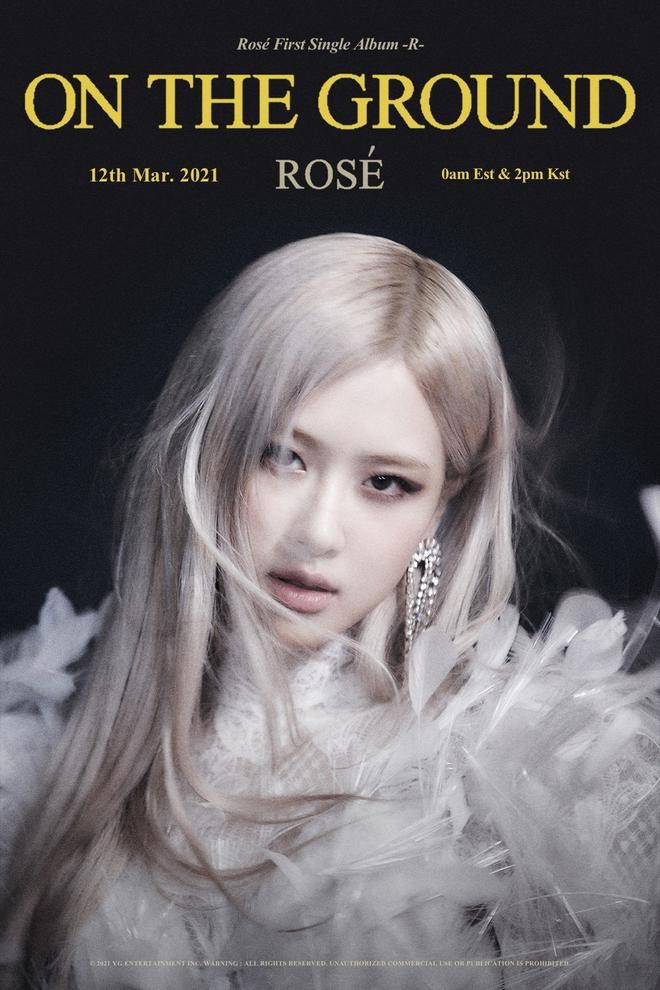 Rosé (BLACKPINK) tiết lộ tên ca khúc chủ đề qua poster siêu ma mị, không còn cụt lủn theo style YG nhưng vẫn phải có từ này - ảnh 1