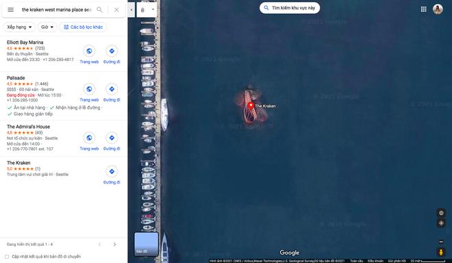 Sự thật phía sau hình ảnh bạch tuộc khổng lồ mà Google Maps chụp được đang gây xôn xao TikTok - ảnh 1