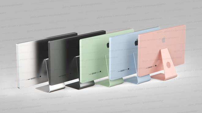 Tin đồn: iMac 2021 sẽ sở hữu những nâng cấp cực xịn, có tận 5 màu mới khiến cộng đồng phải xuýt xoa - Ảnh 1.