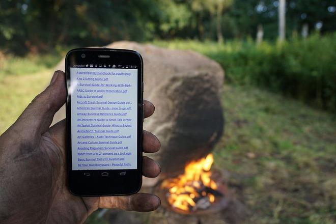 Bí ẩn tảng đá cứ đốt nóng là phát sóng wifi - ảnh 3