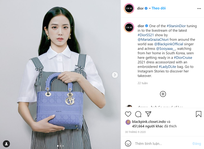 Hành trình của Jisoo tại Dior: Từng được cho là mờ nhạt, dần phủ sóng loạt cover tạp chí và trở thành cây Dior sống - ảnh 27