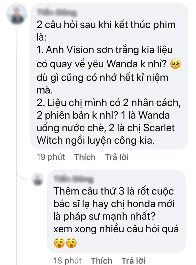 """Netizen Việt xỉu ngang vì WandaVision tập cuối cua quá gắt, """"dỗi"""" luôn biên kịch vì làm bay màu hết giả thuyết của fan! - Ảnh 6."""